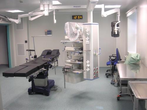 Obrázek k referenci Operační sál na ulici Lobačevski; Moskva, Rusko