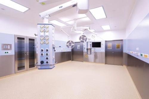Obrázek k referenci Technologická obnova operačních sálů ve Fakultní nemocnici Brno – Vestavby operačních sálů
